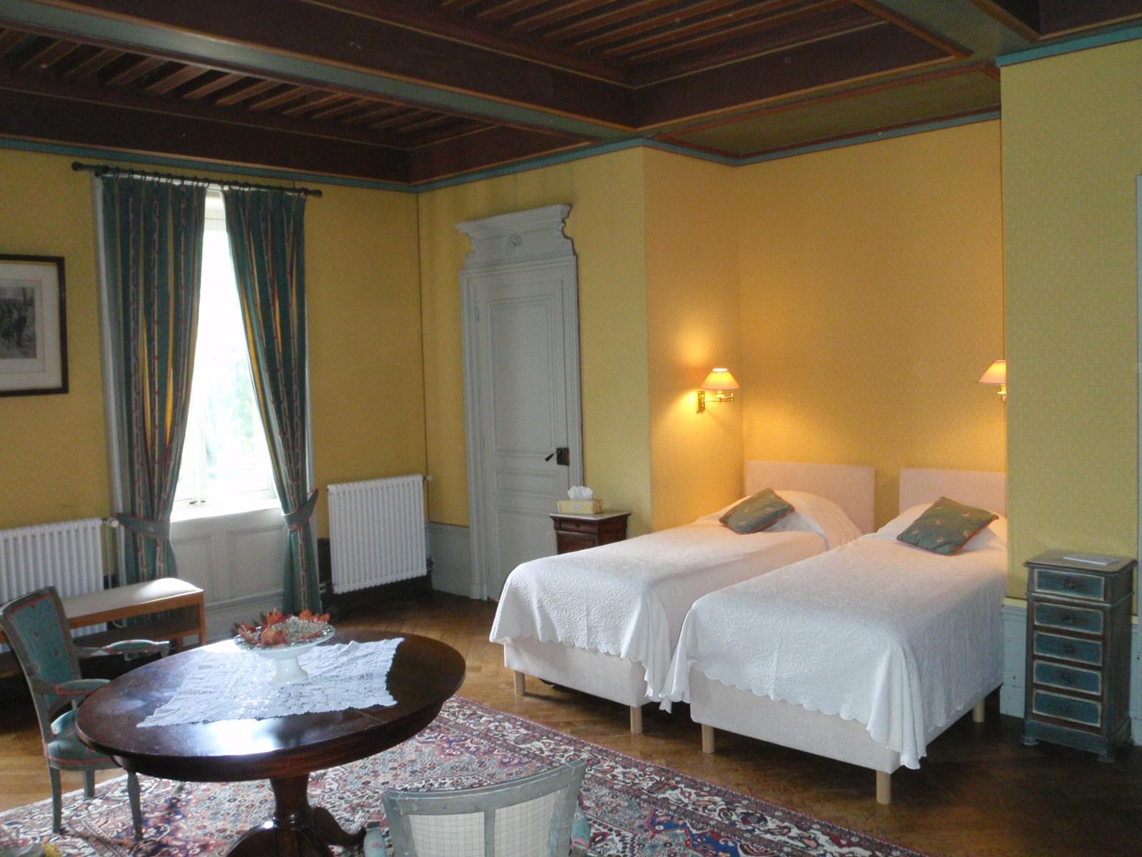 Das gelbe Schlafzimmer